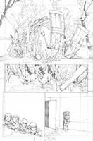 Slash and Burn Issue 2, preview page 1 by Max-Dunbar