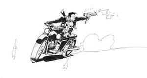 Little Punisher sketch