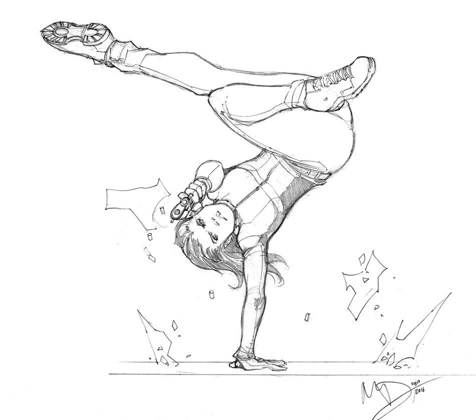 Acrobatic by Max-Dunbar