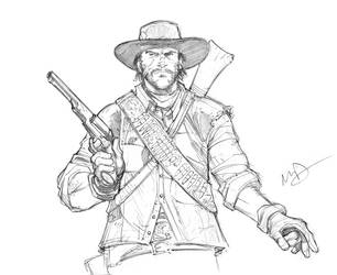 Red Dead Redemption by Max-Dunbar