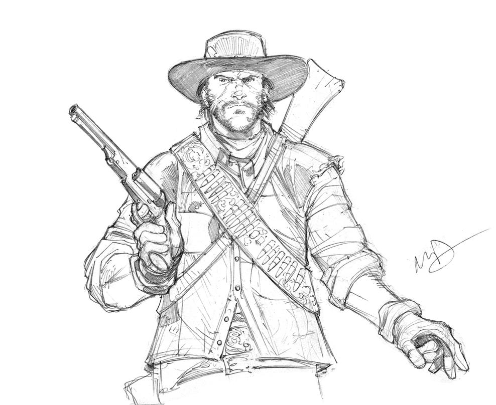 red dead redemption coloring pages - photo#32