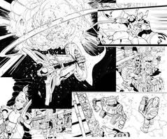 Micronauts Panel Mash! by Max-Dunbar