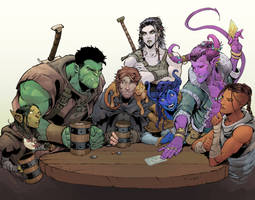 Critical Role, 2nd Campaign by Max-Dunbar