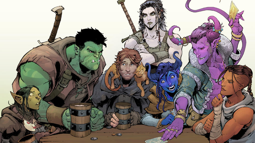 Critical Role Wallpaper Crop By Max Dunbar On Deviantart