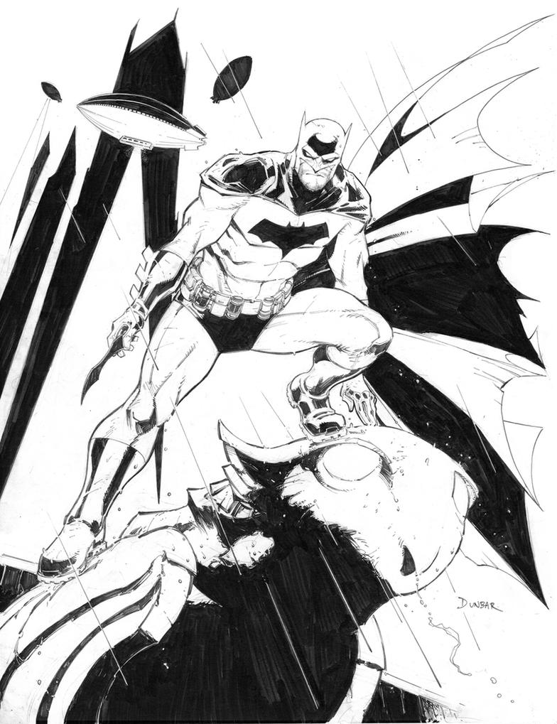 Batman Commission by Max-Dunbar