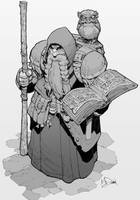 Dungeons and Dragons character by Max-Dunbar