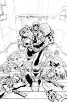 Judge Dredd: Under Siege #2 Cover by Max-Dunbar