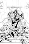 Judge Dredd: Under Siege #2 Cover