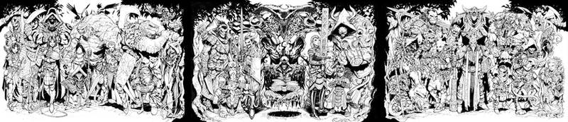 31 Evil Dungeons and Dragons Characters Inktober by Max-Dunbar