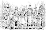 The Mighty Nein fan art free print by Max-Dunbar