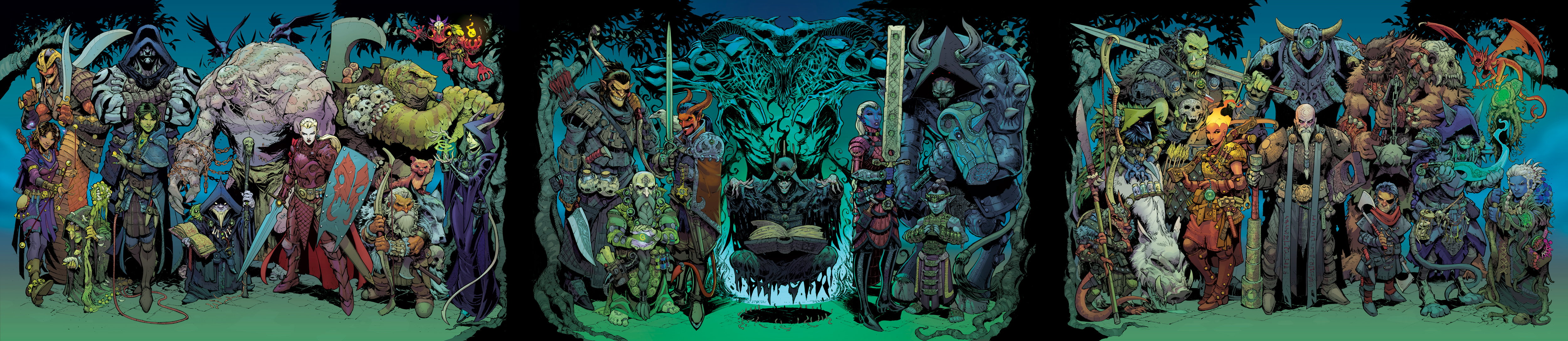 31 Evil Dungeons and Dragons Characters- COLOR