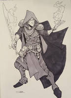 Mercer Battle Mage Con-Commission by Max-Dunbar