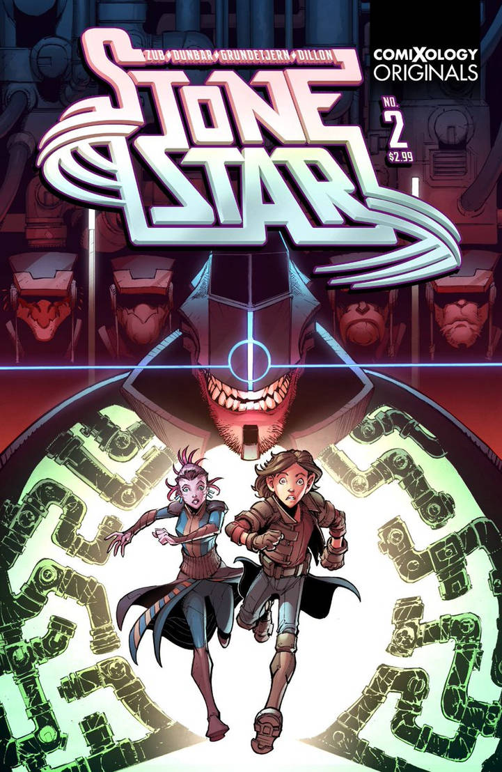 Stone Star Issue #2 cover by Max-Dunbar