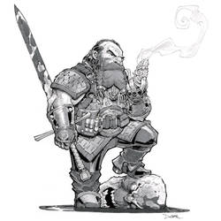 Witcher OC Dwarf