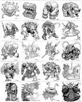 DnD Sketch cards