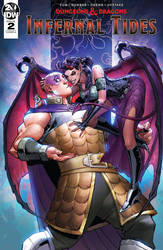 Dungeons and Dragons Infernal Tides #2 Cover