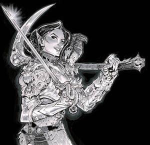Vampire Elf Eldritch Knight