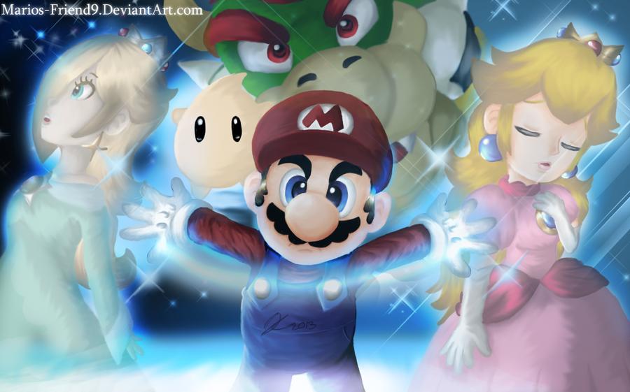 2013:Mario Galaxy Finished by Marios-Friend9