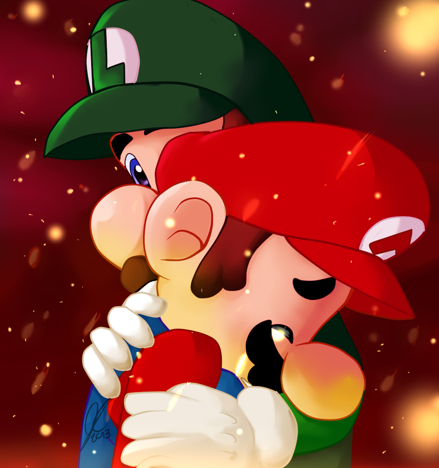 Even Big Brothers Cry by Marios-Friend9 on DeviantArt