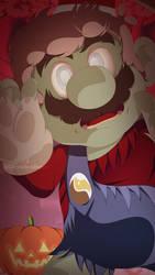 Halloween 2020 Zombie Mario