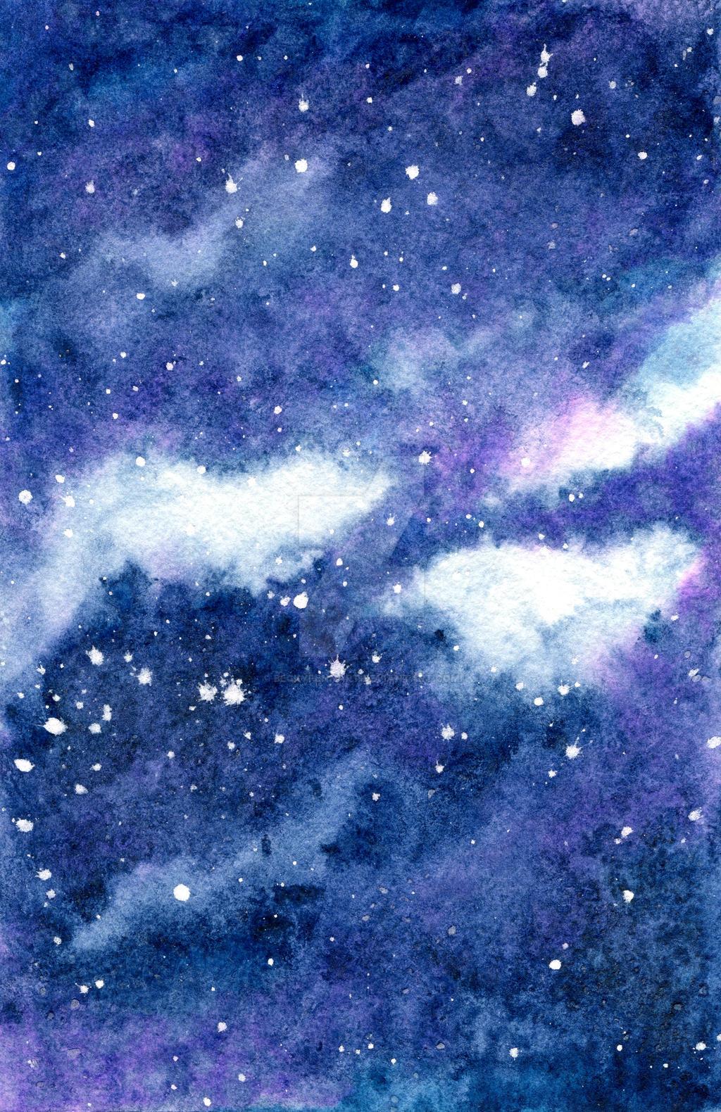 Starry Sky 2 By Beckypennart On Deviantart