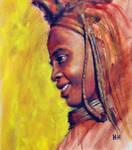 Nomadic Himba tribe study