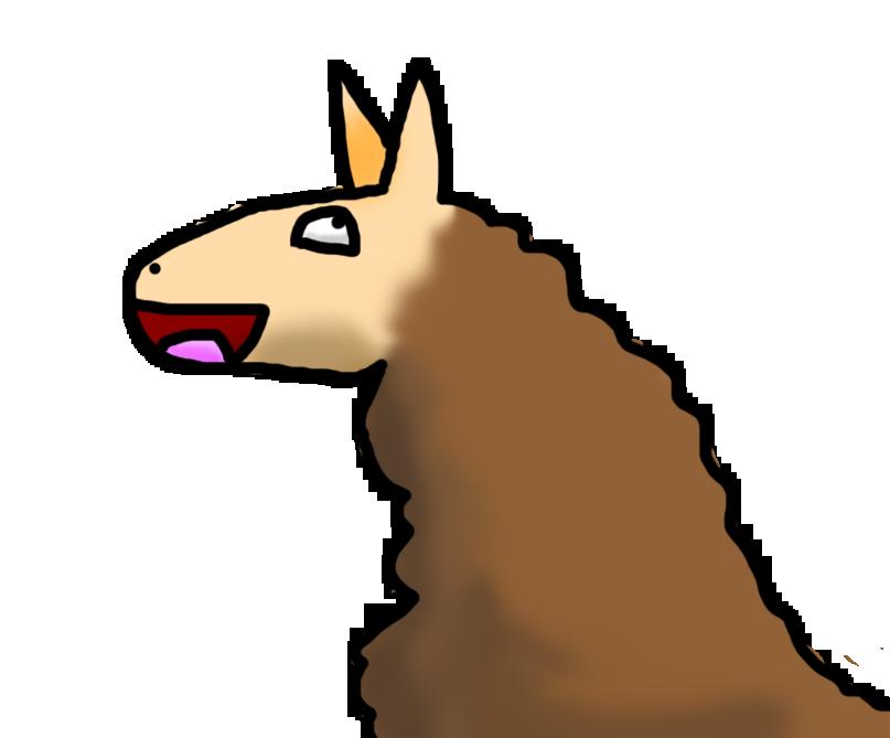 Happy Llama By Arceus Sama