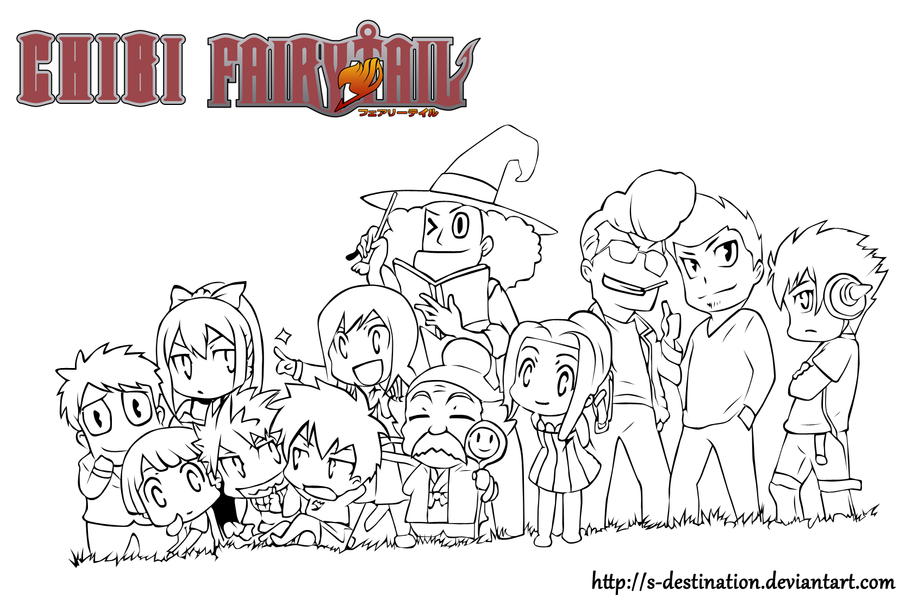 Chibi Fairy Tail by s-destination on DeviantArt