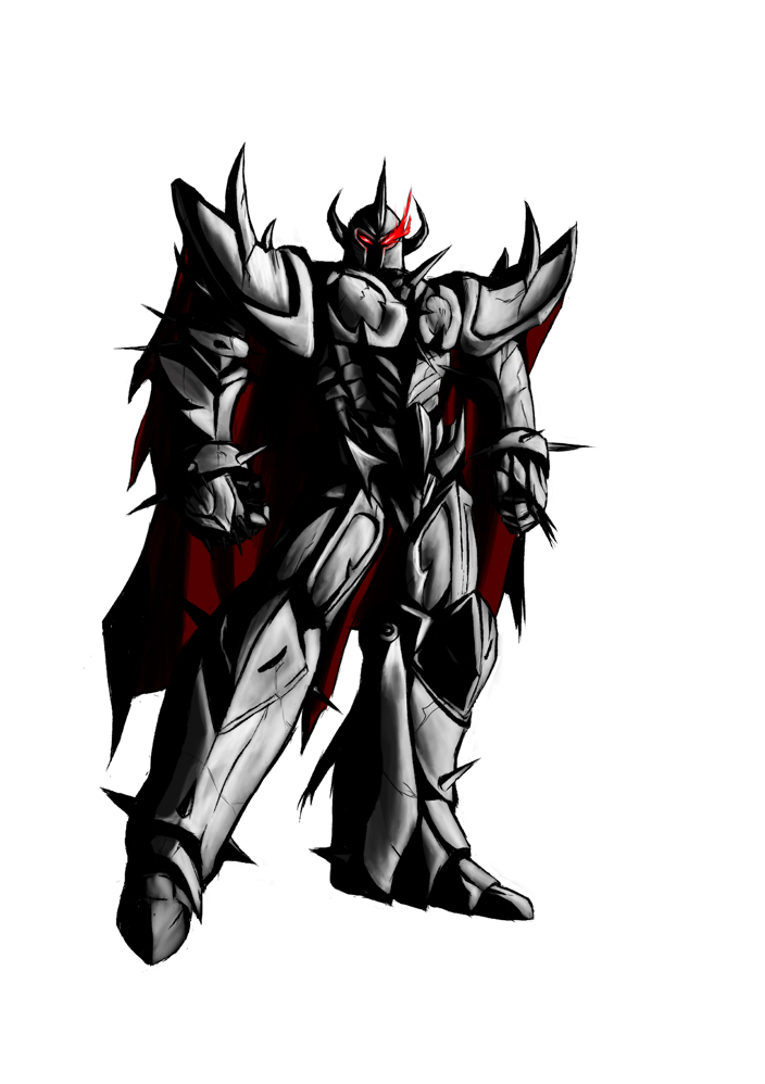 League of Legends- Mordekaiser Colored by Seth-Cypher