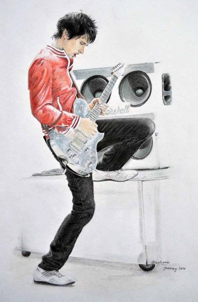 Matthew Bellamy by NinjaTofuPrincess