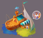 Concept: Fisherman's Shop