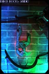 Bioshock Tribute Wall by BurchRootsStudio