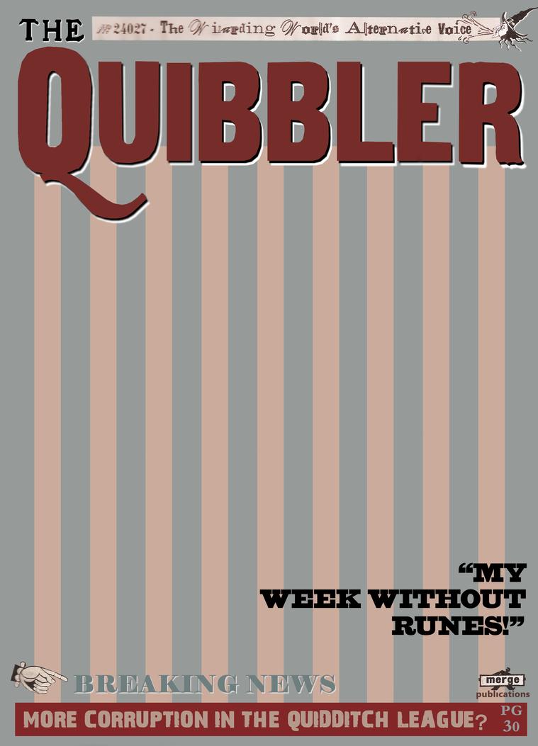 The Quibbler In Progress By Greendude34 On Deviantart