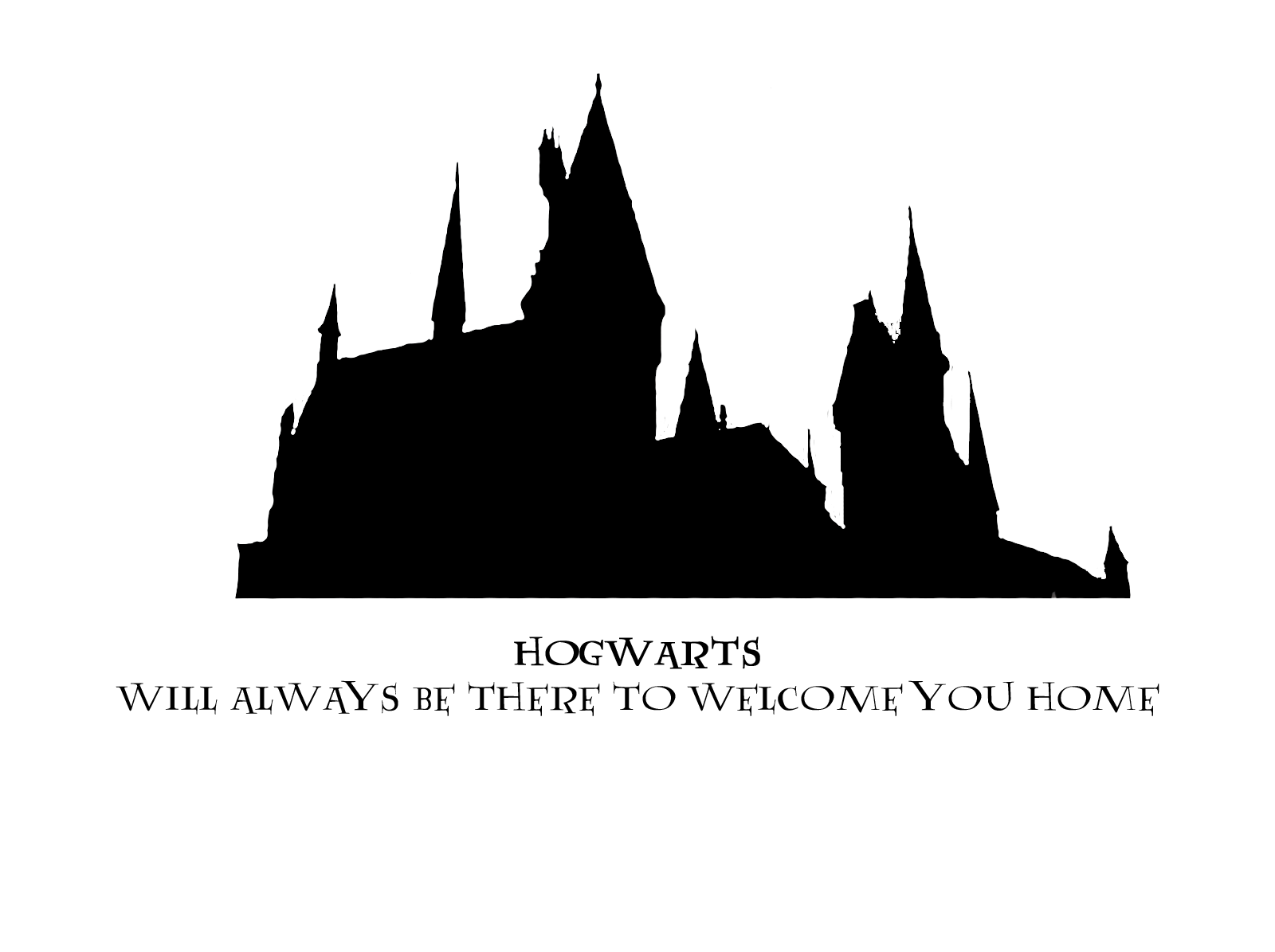 additionally 111614 Hogwarts Vector Icons in addition Hogwarts Silhouette Clipart besides Hogwarts Will Alway Be There To Wel e You Home 270786274 furthermore Chateau Disney. on hogwarts castle silhouette