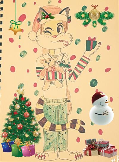 Christmas Girl by mkl91