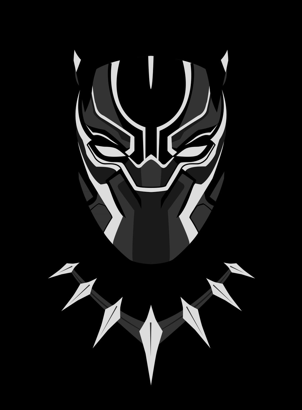 Black panther minimalist by thelivingethan on deviantart for Minimal art vector