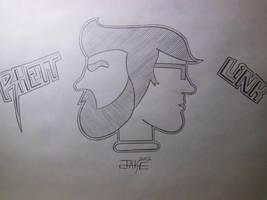 Rhett and Link by JakeDamon1138