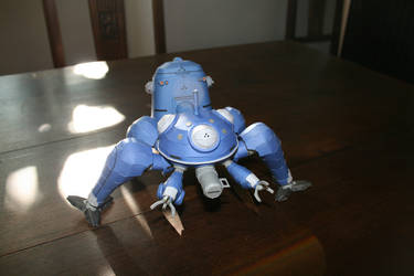 Papercraft Tachikoma 13 by Helmut-de-Bouffy