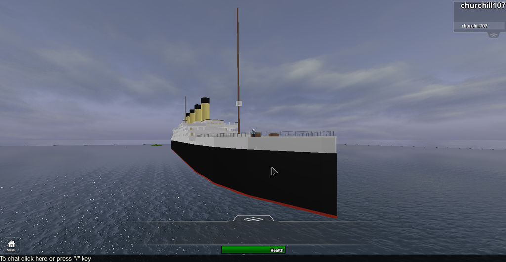 Rms Titanic Roblox By Sirmauser On Deviantart
