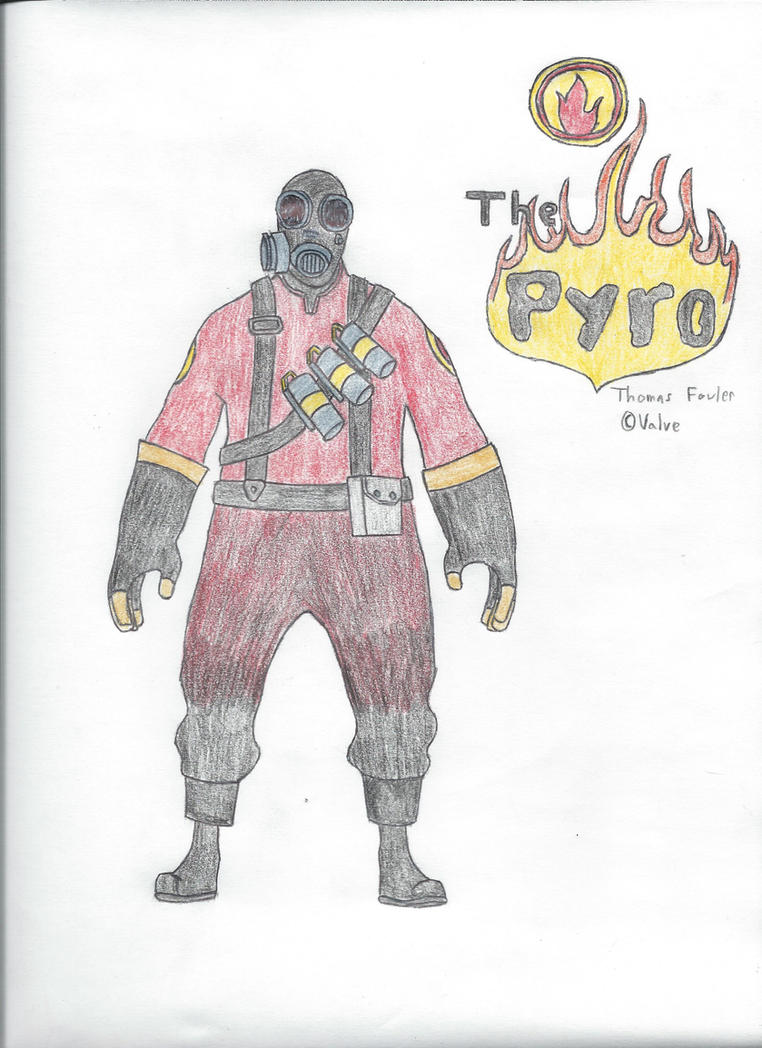 The Pyro by SirMauser