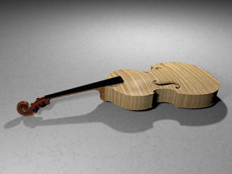Violin Full Body by casteeld