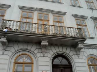 Prague Ornamental Railing by casteeld