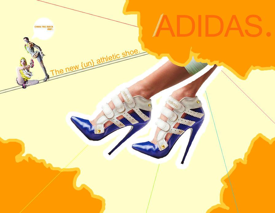 Adidas advertisement by hpola on DeviantArt