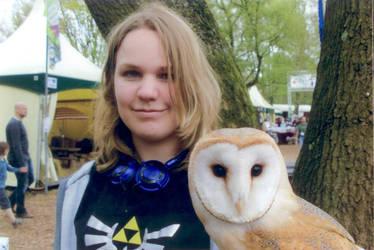 Me and an owl