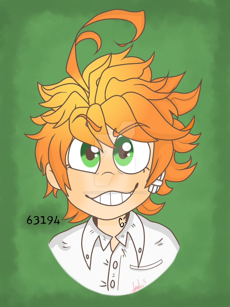 Emma (The Promised Neverland) by 0Jynxthejinx0