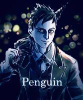 Penguin by Cottontarte