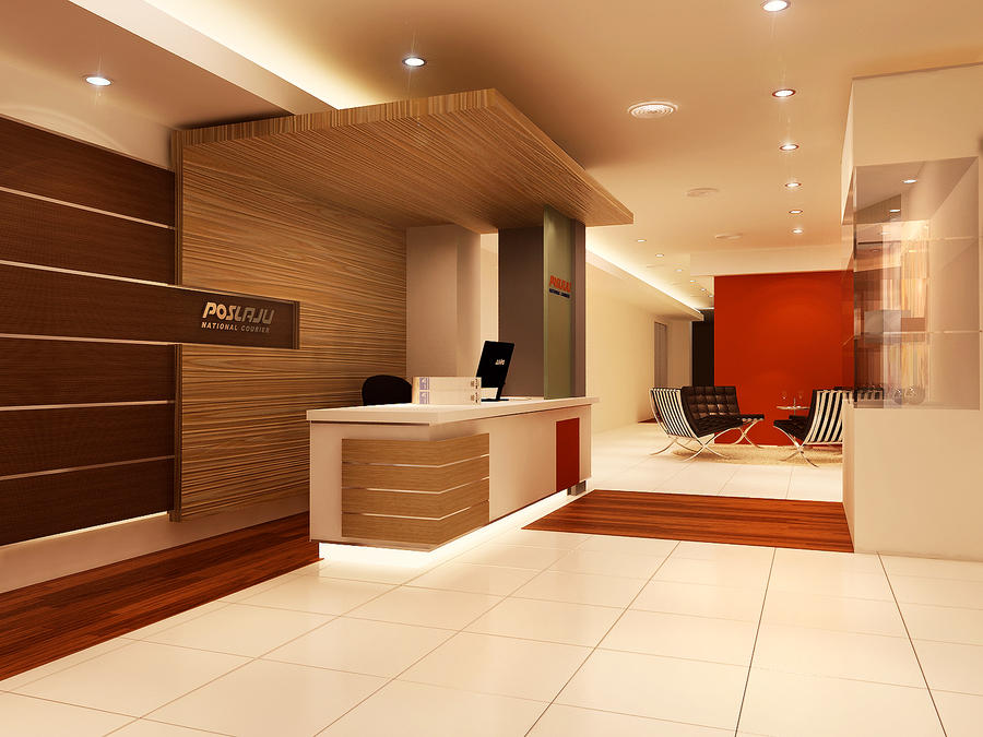Reception area by 3dskaper on deviantart for Reception design hotel