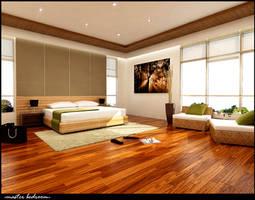 master bedroom 1 by 3Dskaper