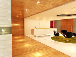 tamadam reception area by 3Dskaper