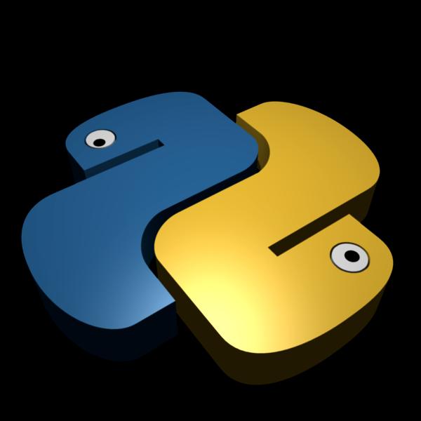 Python logo by ...